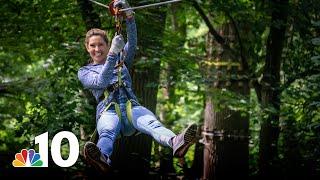Let's Go: Ziplining and Climbing Philly's Treetops | NBC10 Philadelphia
