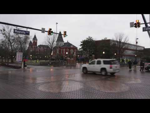 Quick timelapse of early construction of Toomer's Oaks.