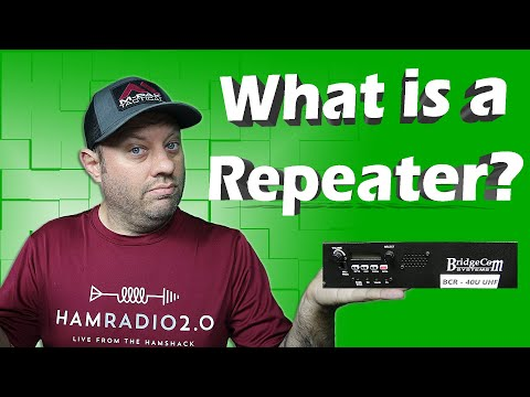 What is a Repeater in Ham Radio | How Ham Radio Works