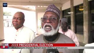 Abdusalami meets Buhari over Atiku's grievances
