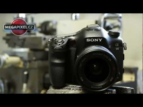 Videorecenze Sony Alpha A99 tělo