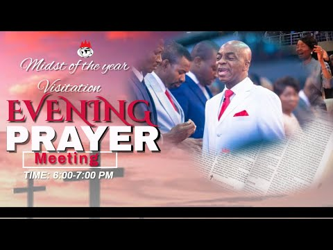 DOMI STREAM:MIDST OF THE YEAR VISITATION  PRAYER MEETING    12TH JUNE , 2020