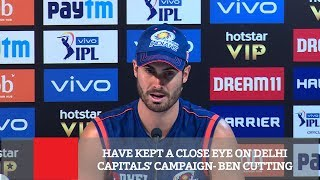Have Kept A Close Eye On Delhi Capitals' Campaign  - Ben Cutting
