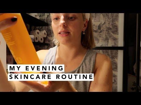 MY EVENING SKINCARE ROUTINE | Estée Lalonde