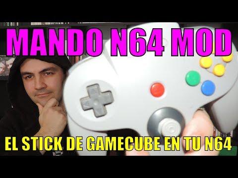 ARREGLANDO EL STICK DE LA NINTENDO 64 || GAMECUBE STICK N64 STICK