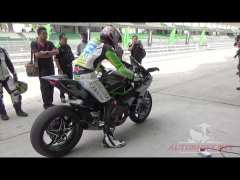 Kawasaki H2r Full Dyno Test Run Racerlt