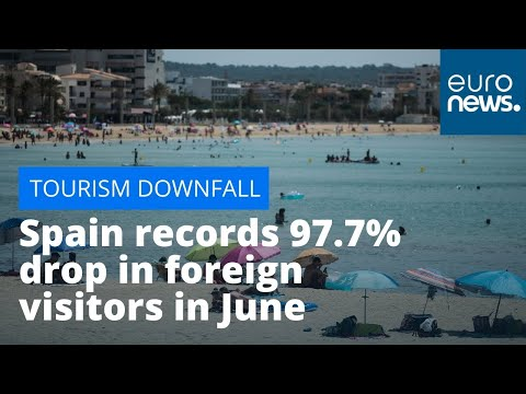 Tourism downfall: Spain records 97.7% drop in foreign visitors in June 2020 due to pandemic