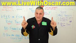 Oscar Carboni Warns: Ignore Certain Money Trees on FED Day 05/01/2019 #1933