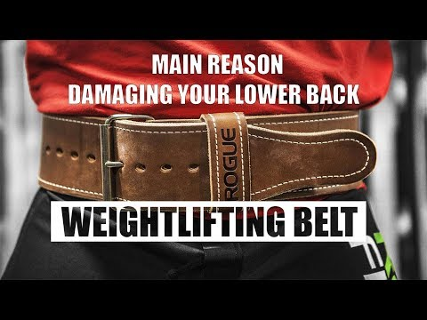 WEIGHT LIFTING BELT is the reason for weak abs? Weakens your Lower back? TRUTH - UCg5LjzSV0GqSjXJXERkW1FA