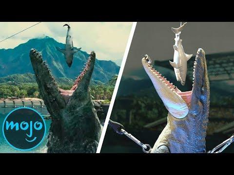 Jurassic World as a Chain Reaction Machine