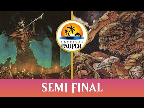 Orzhov Pestilence VS Naya Slivers - Tropical Pauper 1.01 - Semi Final