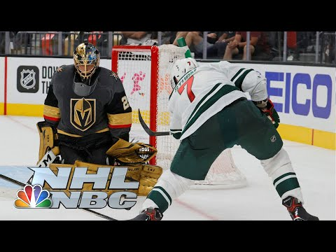 NHL Stanley Cup 2021 First Round: Golden Knights vs. Wild | Game 1 EXTENDED HIGHLIGHTS | NBC Sports