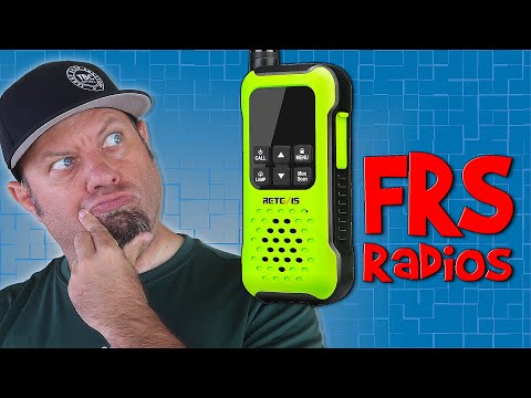 Retevis RT49P FRS Demo | Best FRS Walkie Talkie 2021?