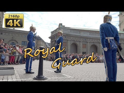 Changing of the Guard in Stockholm - Sweden 4K Travel Channel - UCqv3b5EIRz-ZqBzUeEH7BKQ