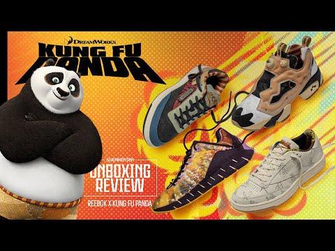 A Coleção Completa De Reebok E Kung Fu Panda! | UNBOXING+REVIEW