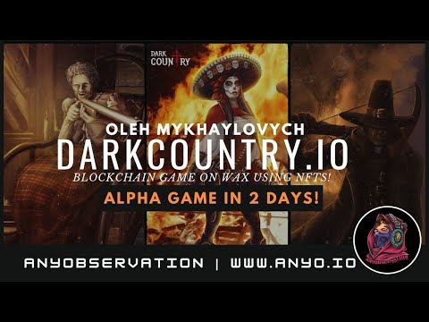 NFT card game alpha release in 2 days! | Dark country CEO interview