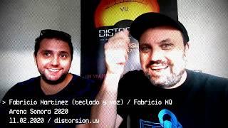 Entrevista a Fabircio Martinez en semifinales de Arena Sonora 2020 (11.02.2020)