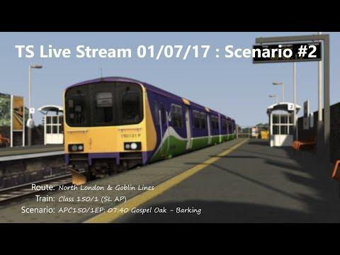 APC150/1EP: 07:40 Gospel Oak - Barking (Livestream 01/07/17)