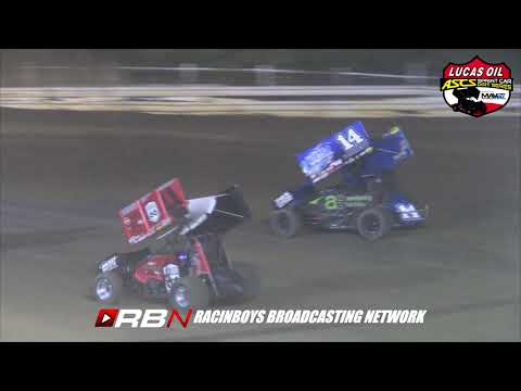 Highlights from Lucas Oil ASCS Fall Brawl at Creek County Speedway in Sapulpa, OK on Sat. October 12, 2019 - dirt track racing video image