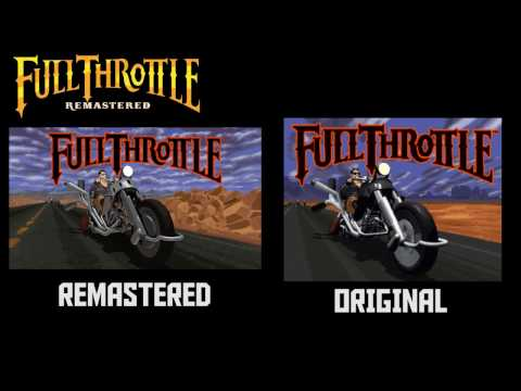 Full Throttle Remastered - Remastered Vs Original - First 10 Minutes - 2017 - Firefly Studios - PC
