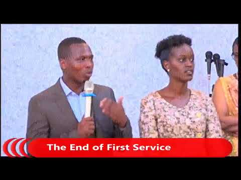LIVE  FOURSQUARESUNDAY SERVICE FIRST SERVICE