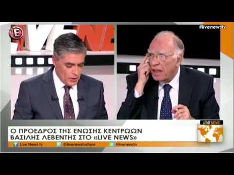 Β. Λεβέντης / Live News, Ν. Ευαγγελάτος, E TV / 24-2-2017