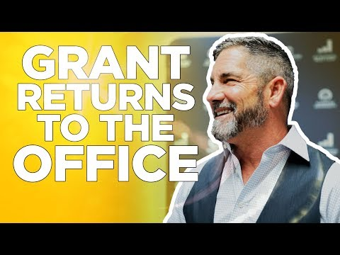 Grant Cardone Returns to the Office photo