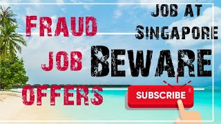 Fraud job Agency's-Hotel industry
