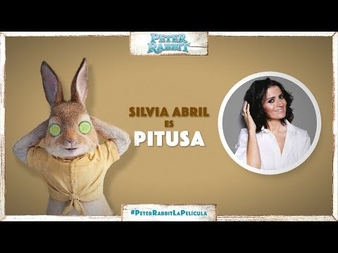 PETER RABBIT. Silvia Abril es Pitusa. En cines 23 de marzo.