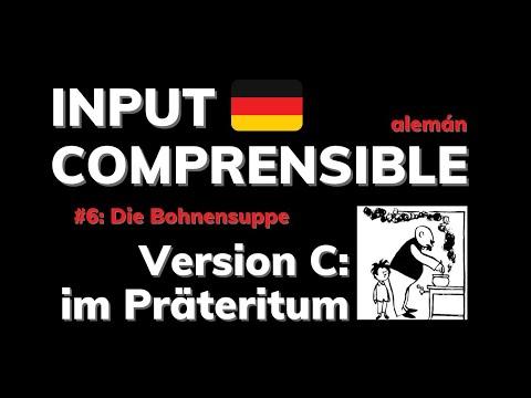Adquirir alemán con una historieta: INPUT COMPRENSIBLE #6   versión: PRÄTERITUM