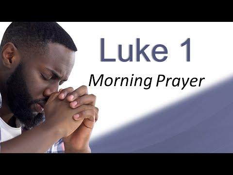 YOUR PRAYER FINALLY ANSWERED - LUKE 1 - MORNING PRAYER
