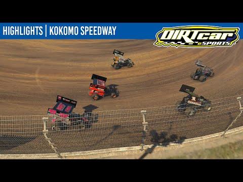 DIRTcar eSports 360 Sprint Cars Kokomo Speedway May 12, 2021 | HIGHLIGHTS - dirt track racing video image
