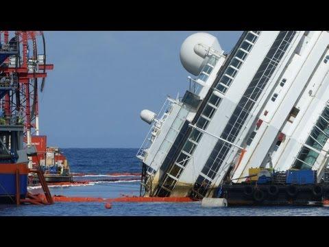 Bắt đầu trục vớt tàu Costa Concordia