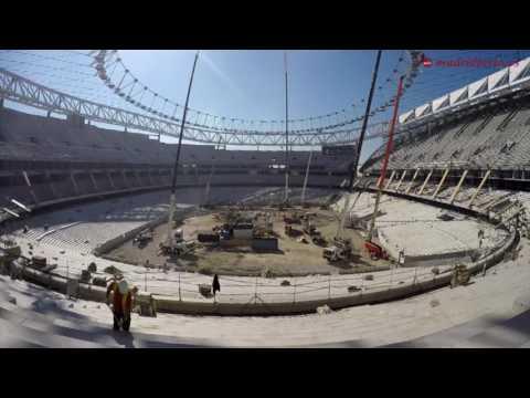 Estadio Wanda Metropolitano׃ visitamos en exclusiva las obras del nuevo templo atlético