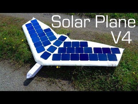 SOLAR Plane V4 Flying Wing - UCq2rNse2XX4Rjzmldv9GqrQ