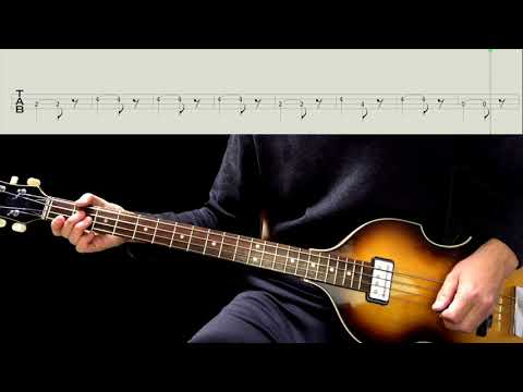Bass TAB : A Taste Of Honey - The Beatles