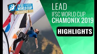 IFSC Climbing World Cup Chamonix 2019 - Lead - Highlights