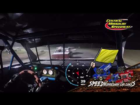 #89 Jonathan Evans - Pure Stock - 6-19-2021 Central Missouri Speedway - In Car Camera - dirt track racing video image