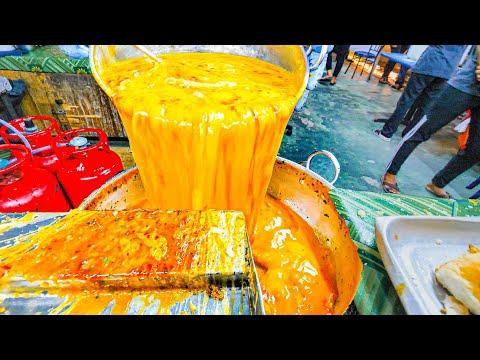 INSANE Street Food VOLCANO (400 EGGS!!!) + EXTREME Street Food Tour of Kuala Lumpur, Malaysia 2020!!