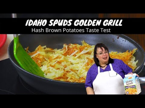 Idaho Spuds Golden Grill Hash Browns Taste Test | Pantry Dehydrated Potatoes | What's Up Wednesday!