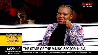 The Bottom Line: Talking mining sector with Bavelile Hlongwa
