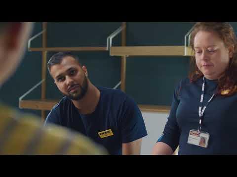 Job i IKEA - Ali sætter især pris på de mange muligheder for at udvikle sig i IKEA | IKEA Danmark