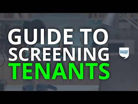 The Definitive Guide To Tenant Screening | Daily Podcast