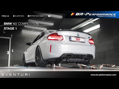 BMW M2 Competition / Stage 1 By BR-Performance / Eventuri Intake