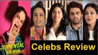 Bollywood Celebs REVIEW On Kangana Ranaut's Judgemental Hai Kya Movie- Jhanvi Kapoor, Swara Bhaskar