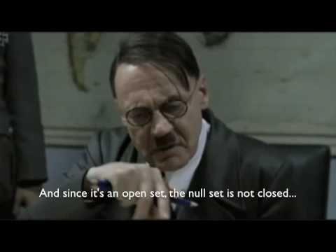 Hitler Learns Topology