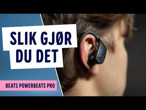Hvordan styre Beats PowerBeats Pro