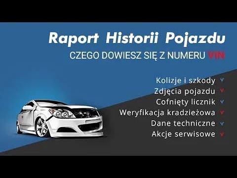 Co pokaże ci raport VIN  od Autobaza.pl