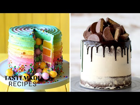 5 Incredible Cake Ideas That Will Blow Your Friends & Family Away | Tastemade Sweeten