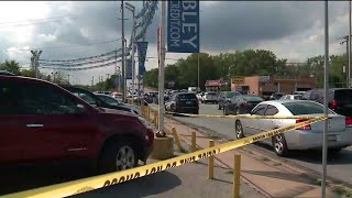 Search continues for second person involved in armed robbery of car dealership